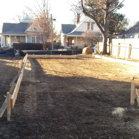 Leveling and foundation prep
